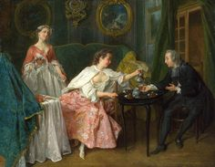 Nicholas Lancret: The Four Times of Day: Morning (1739)