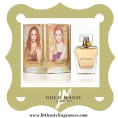 #AD The first ever Little Mix fragrance is available NOW, Shoutettes! #GoldMagic