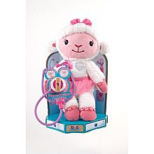 "Doc McStuffins Hearts A-Glow Animated Plush - Lambie - Just Play - Toys ""R"" Us"
