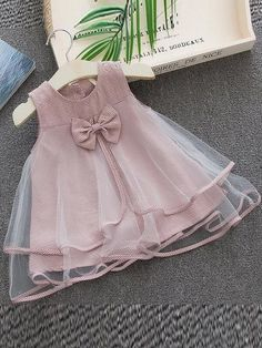Baby Girl Frocks, Baby Girl Party Dresses, Little Girl Dresses, Birthday Dresses, Little Girls, Girls Dresses, Baby Girl Dress Design, Baby Girl Dress Patterns, Kids Frocks Design