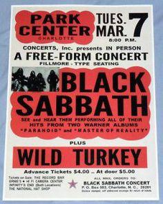 a1df3c2fb 96 Best Black Sabbath images | Concert posters, Gig poster, Black ...
