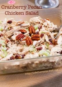Cranberry Pecan Chicken Salad is perfect for any party! Cranberry Pecan Chicken Salad is perfect for any party! Pecan Chicken Salads, Cranberry Chicken, Chicken Salad Recipes, Salad Chicken, Avocado Chicken, Cranberry Salad, Canned Chicken, Recipe Chicken, Bbq Chicken