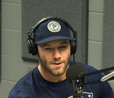 Patriots Wide Receiver Julian Edelman gives an interview on WEEI's 'Ordway, Merloni and Fauria Show' on Monday, January Julian Edelman, Best Football Players, Football Memes, Danny Amendola, Boston Sports, Wide Receiver, Dipper, National Football League, Attractive Men