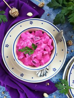 Tejfölös céklasaláta recept - Kifőztük, online gasztromagazin Veggie Recipes, Salad Recipes, Veggie Meals, Hungarian Recipes, Hungarian Food, Broccoli, Watermelon, Food Porn, Beans