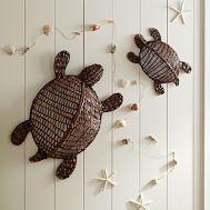 For beach theme sun room?