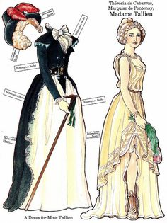 The French Revolution Paper Dolls - edprint2000paperdolls - Picasa Albums Web