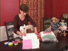 "Video: How to Make a Sleeping Bag for an ""American Girl"" Doll"