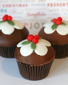 Chocolate Pudding cupcake