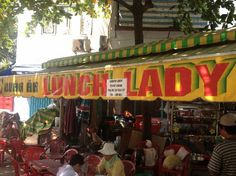 The Lunch Lady (Nguyen Thi Thanh) Ho Chi Minh City, Vietnam