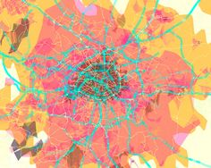prettymaps (paris) by Aaron Straup Cope - 20x200 (from $60)