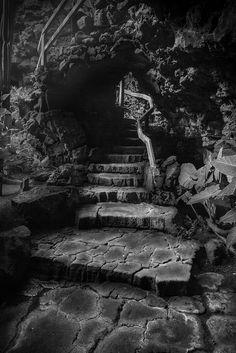 Jameos del Agua - #Lava tube, #Lanzarote, #CanaryIslands - www.gdecooman.fr portfolio, fine-art prints - cours et stages photo à Lille