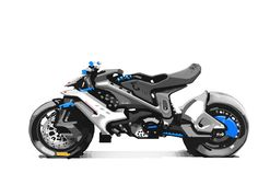 Futuristic Motorcycle, Futuristic Cars, Concept Motorcycles, Racing Motorcycles, Moto Bike, Motorcycle Bike, Robot Concept Art, Concept Cars, Bmw Motors
