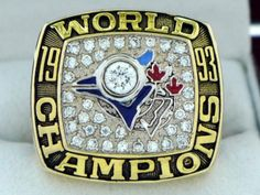 1993 Toronto Blue Jays World Series MLB Championship Ring Free shipping!!!