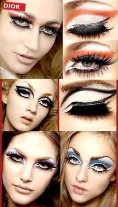 Maquillaje de Pasarela Dior/ Dior makeup