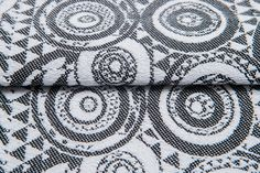 Playground Classic #weavingstudio #fabricart #cottonfabric #playground #black&white #classic