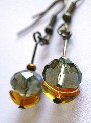 Crystal flowers Handmade jewelry