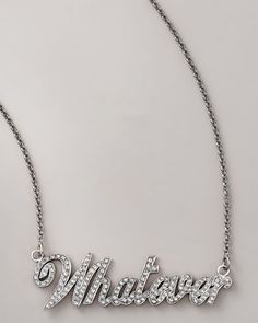 Whatever Necklace by Jessica Kagan Cushman at Bergdorf Goodman.