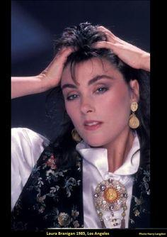 Laura Branigan 1985, Los Angeles (Photo Harry Langdon)