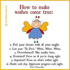 Wishes Come True Quotes | How to make wishes come true! | Quotes | Pinterest