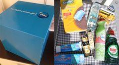 Procter and Gamble Überraschungsbox - Vor einigen Tagen erreichte mich eine große blaue Überraschungsbox von Procter und Gamble. Gespannt habe ich die Box geöffnet und zum Vorschein kamen aktuelle Haushalts- und Beautyprodukte von P&G, aber seht selbst.  Procter und Gamble Überraschungsbox   1) Fairy Ultra Konzentrat und Swiffer ... - http://www.vickyliebtdich.at/procter-and-gamble-ueberraschungsbox/