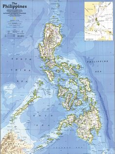 Don't know where Palawan is? It's the long thin island here, on a slant in the southwest corner of the Philippines.