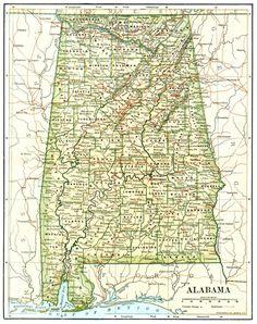 25 Best Alabama the Beautiful Maps images   Sweet Home Alabama ...