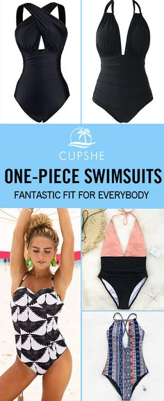 Fantastic Fit! When one looks great, it's always in a perfect One-piece swimsuit. Each precious piece at Cupshe is exquisitely designed for the unique you. Take these must-have and give yourself a glamorous look this season!