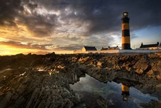 St Johns Point Lighthouse - Co Down by Gary McParland
