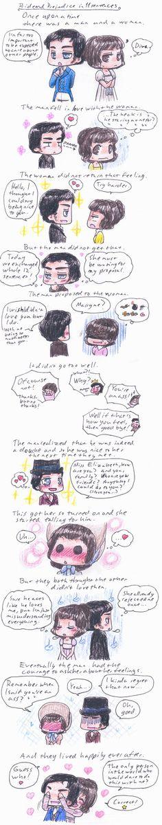 Pride and Prejudice in short by ~Miyuki13 on deviantART