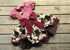 Toddler Poofy Western Cowgirl Pageant Skirt and by CottontailKids, $115.00