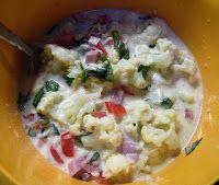 Comer rico y sano: Pastel de coliflor al horno Dory, Potato Salad, Mashed Potatoes, Food And Drink, Tartan, Ethnic Recipes, Diabetes, Avocado Tomato Salad, Baked Vegetables