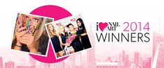 #SallyHansen's #nailart winners! :)