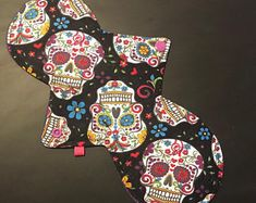 """11.5"""" moderate flow reusable cloth pad, washable pad, zero waste lifestyle, zero waste period, mommy pad"""