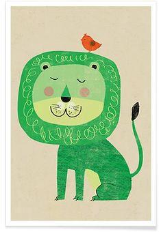 Lion   Rocket68   Premium Poster