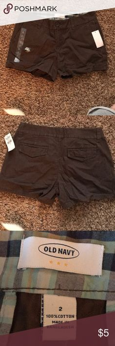 NWT Old Navy size 2 chino shorts NWT Old Navy Size 2 brown chino shorts Old Navy Shorts