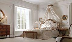 полог в дизайне изголовья кровати