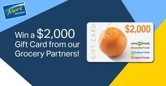 WIN $2,000 Gift Card