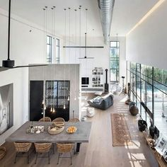 cool Gorgeous loft... by http://www.top-99homedecorpictures.us/home-interiors/gorgeous-loft/