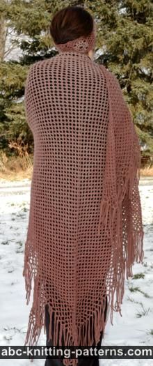 ABC Knitting Patterns - Summer Chain Top.