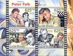 Peter Falk - Columbo on stamps