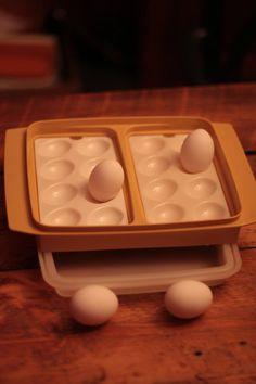 Vintage Tupperware Egg Tray