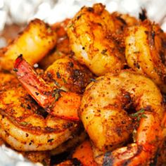 Sweet, salty, and spicy— the rub will keep up to 6 months in your freezer, but the shrimp will be gone in an instant!