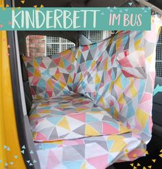 Bus extension to lybstes; KInderbett in the bus Pinner Busausbau nach lybstes; KInderbett im Bus Ima Bus Camper, Vw Bus Camping, Van Camping, Family Camping, Camping Gear, Outdoor Camping, Cabover Camper, Mini Camper, Camping Style