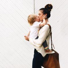 | casual mama + baby | #motherhood #casualstyle