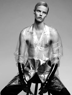 Androgynous Murderer Shoots - This Editorial Featuring Stefan Khoo is Evil and Alluring (GALLERY)