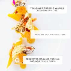 Click to see the creation of a Dessert, inspired by Organic Vanilla Rooibos, PANTONE 714C, and the mood: Imaginative