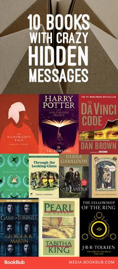 10 books with hidden messages (or easter eggs), that are sure to surprise you. Including Harry Potter, Game of Thrones, and more.