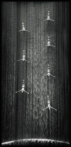 wasbella102:  The Waterfall by Christian Maier   INTO the ABYSS………..No.1