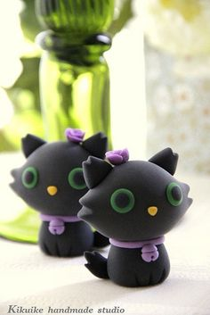 Wedding Cake Topper-love kitty,love cat by charles fukuyama, via Flickr