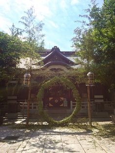 Chi-no-wa Kuguri at Torigoe Shrine.